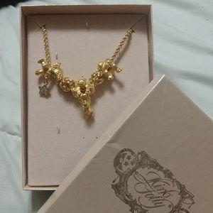 Kirk's Folly Angel Bears Necklace Vintage